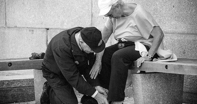 Weakness in elderly
